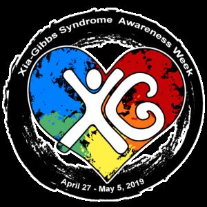 Xia-Gibbs Syndrome Awareness Week 2019 logo
